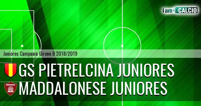 GS Pietrelcina Juniores - Maddalonese Juniores
