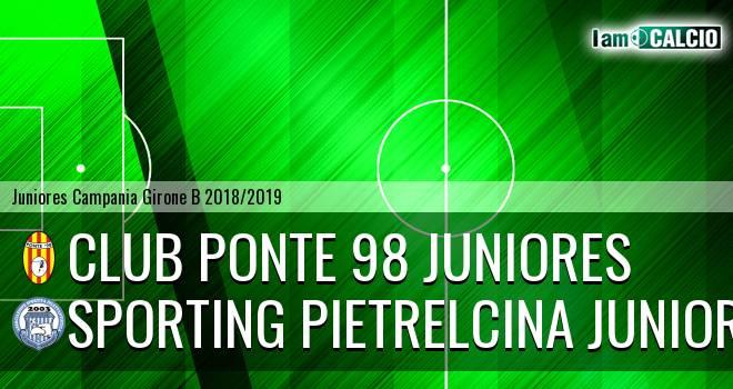 Ponte '98 Juniores - Sporting Pietrelcina Juniores