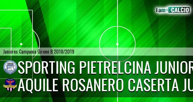 Sporting Pietrelcina Juniores - Aquile Rosanero Caserta Juniores