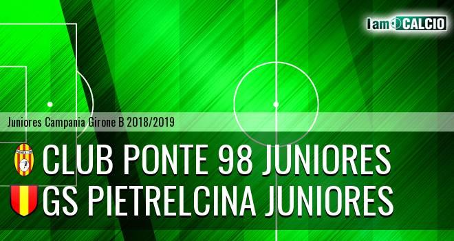 Ponte '98 Juniores - GS Pietrelcina Juniores