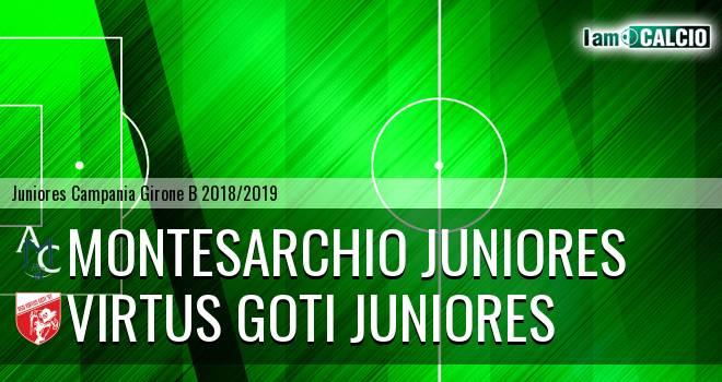 Montesarchio Juniores - Virtus Goti Juniores