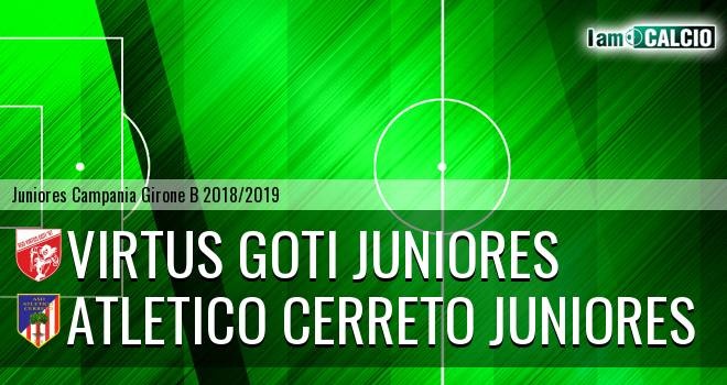 Virtus Goti Juniores - Atletico Cerreto Juniores