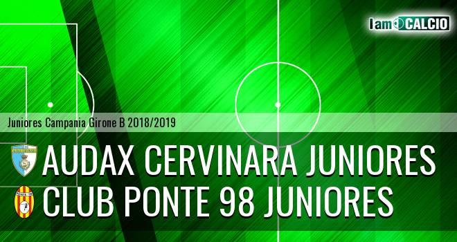 Audax Cervinara Juniores - Club Ponte 98 Juniores