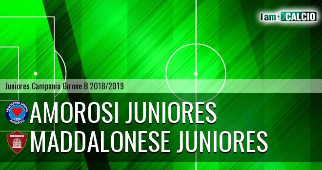 Amorosi Juniores - Maddalonese Juniores