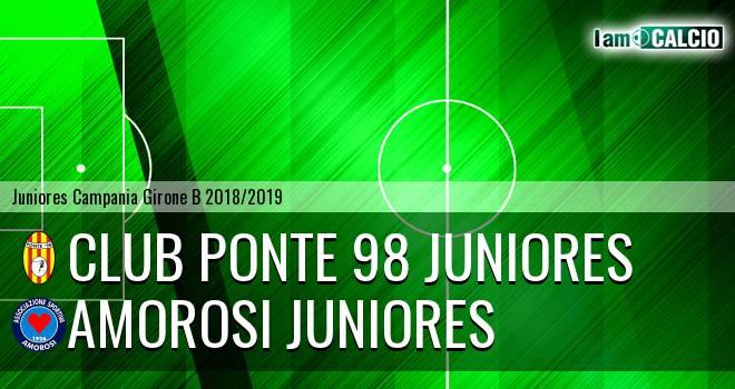 Club Ponte 98 Juniores - Amorosi Juniores