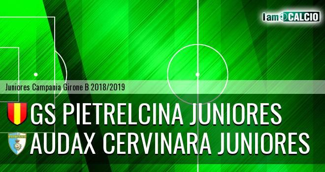 GS Pietrelcina Juniores - Audax Cervinara Juniores