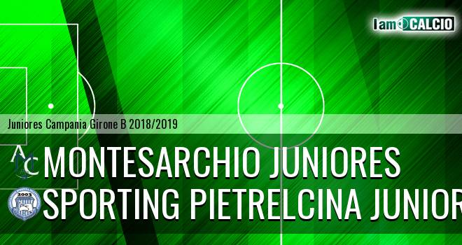 Montesarchio Juniores - Sporting Pietrelcina Juniores