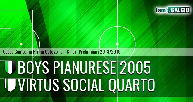 Boys Pianurese 2005 - Virtus Social Quarto