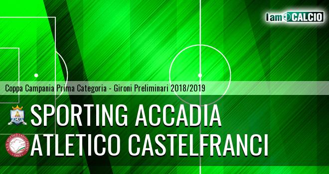 Sporting Accadia - Atletico Castelfranci