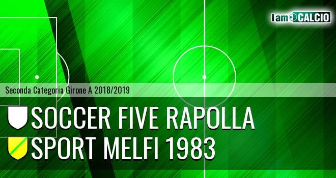 Soccer Five Rapolla - Sport Melfi 1983