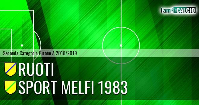 Ruoti - Sport Melfi 1983