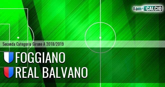 Foggiano - Real Balvano