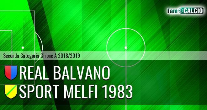 Real Balvano - Sport Melfi 1983