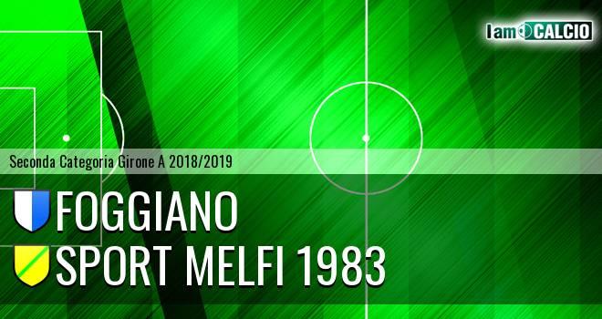 Foggiano - Sport Melfi 1983