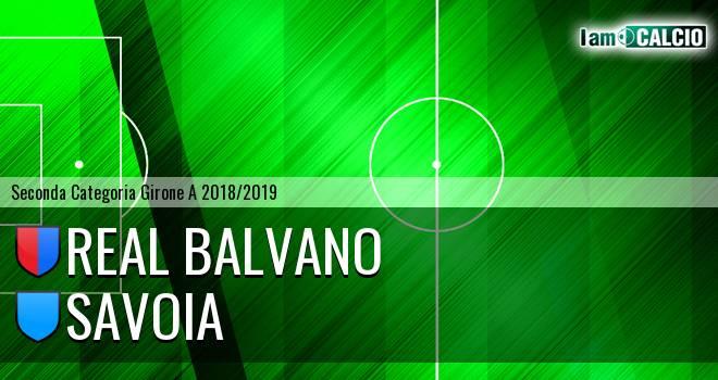Real Balvano - Savoia