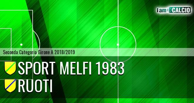 Sport Melfi 1983 - Ruoti