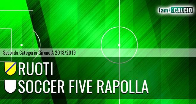 Ruoti - Soccer Five Rapolla