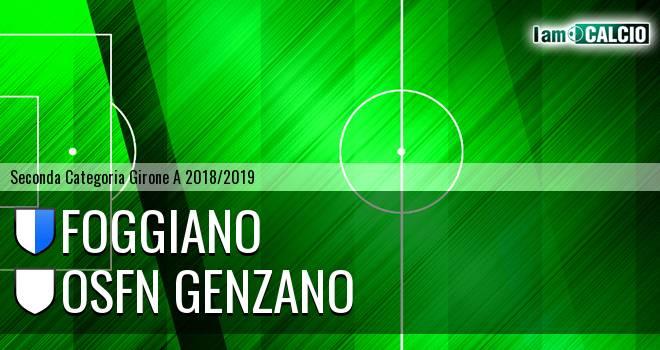 Foggiano - Osfn Genzano