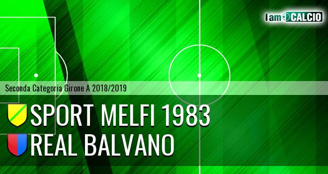 Sport Melfi 1983 - Real Balvano