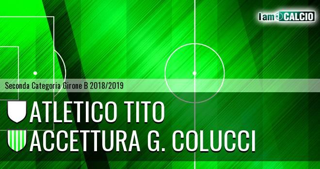 Atletico Tito - Accettura G. Colucci