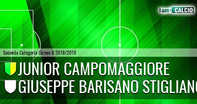 Junior Campomaggiore - Giuseppe Barisano Stigliano