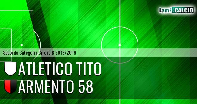 Atletico Tito - Armento 58