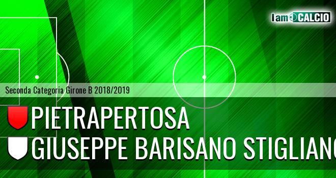 Pietrapertosa - Giuseppe Barisano Stigliano
