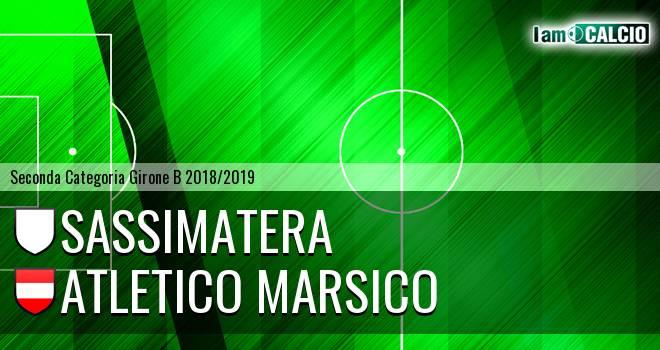 Sassimatera - Atletico Marsico