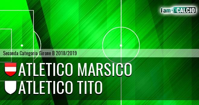 Atletico Marsico - Atletico Tito