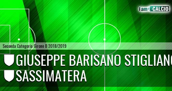 Giuseppe Barisano Stigliano - Sassimatera
