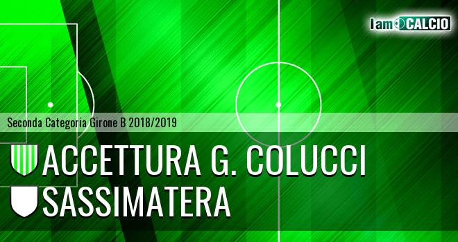 Accettura G. Colucci - Sassimatera