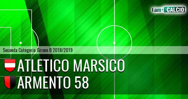 Atletico Marsico - Armento 58