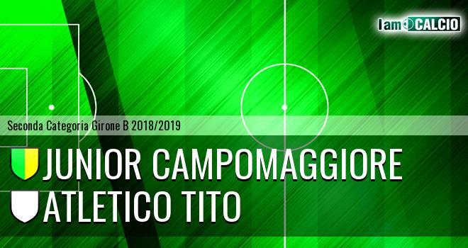 Junior Campomaggiore - Atletico Tito
