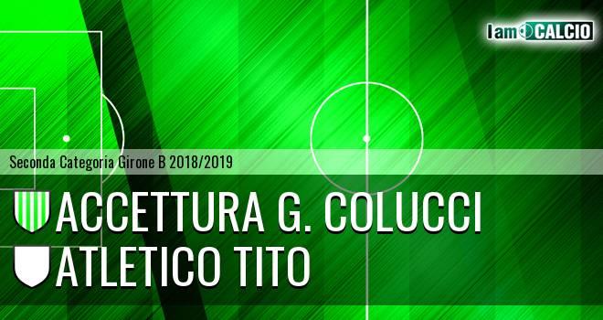 Accettura G. Colucci - Atletico Tito