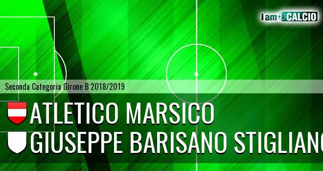 Atletico Marsico - Giuseppe Barisano Stigliano