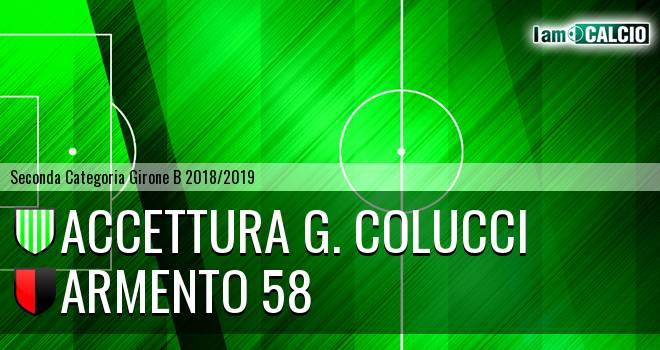Accettura G. Colucci - Armento 58