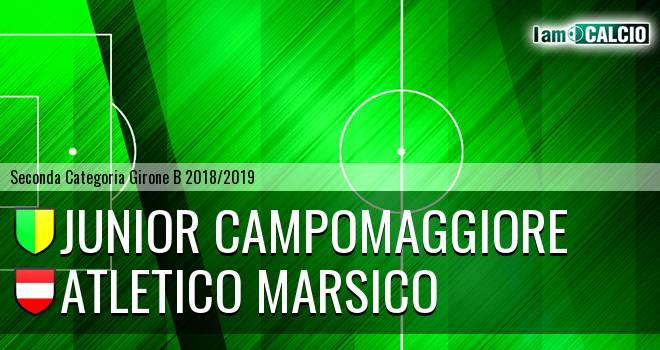 Junior Campomaggiore - Atletico Marsico