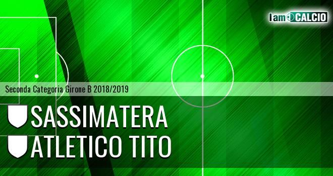 Sassimatera - Atletico Tito