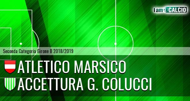 Atletico Marsico - Accettura G. Colucci