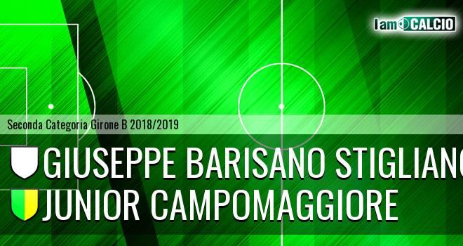 Giuseppe Barisano Stigliano - Junior Campomaggiore