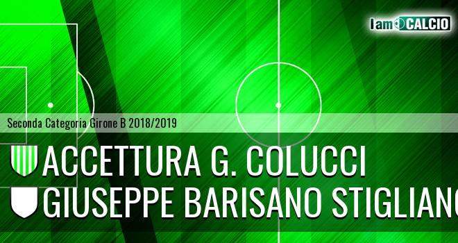 Accettura G. Colucci - Giuseppe Barisano Stigliano
