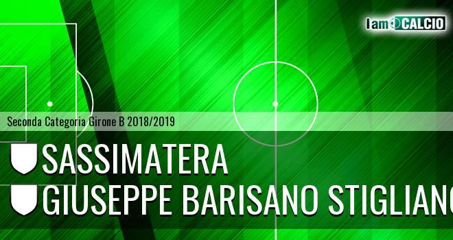 Sassimatera - Giuseppe Barisano Stigliano