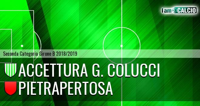 Accettura G. Colucci - Pietrapertosa