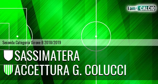 Sassimatera - Accettura G. Colucci