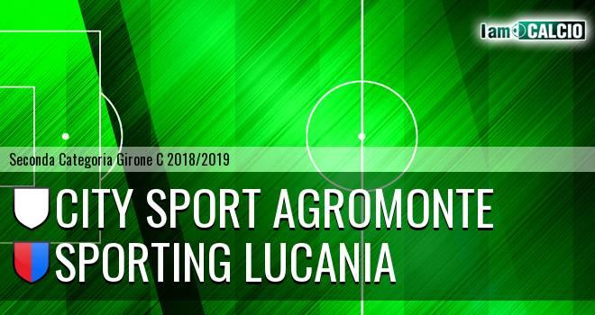 City Sport Agromonte - Sporting Lucania