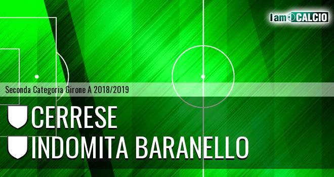 Cerrese - Indomita Baranello