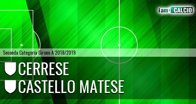 Cerrese - Castello Matese