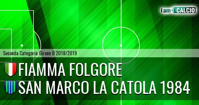 Fiamma Folgore - San Marco la Catola 1984