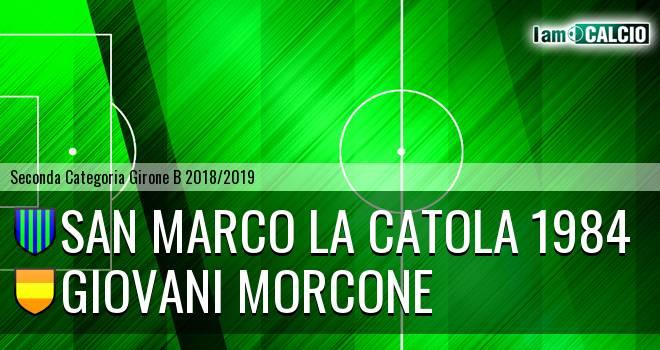 San Marco la Catola 1984 - Giovani Morcone
