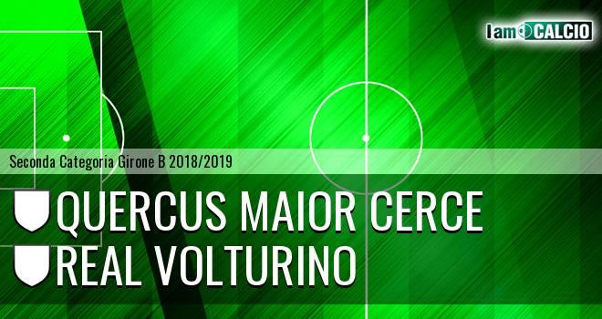 Quercus Maior Cerce - Real Volturino 3-3. Cronaca Diretta 17/03/2019